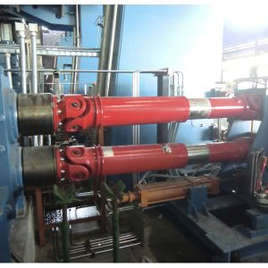 Universal joint shaft / metal / telescopic / transmission